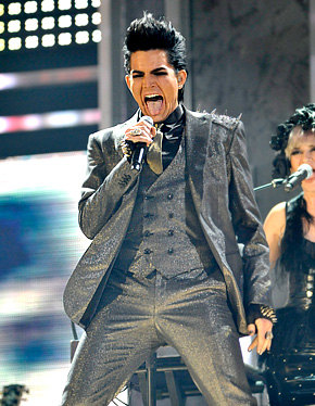 adam lambert 11 25 09 Cool videos with pregnant women, where she fucks guy very hard in the crotch ...