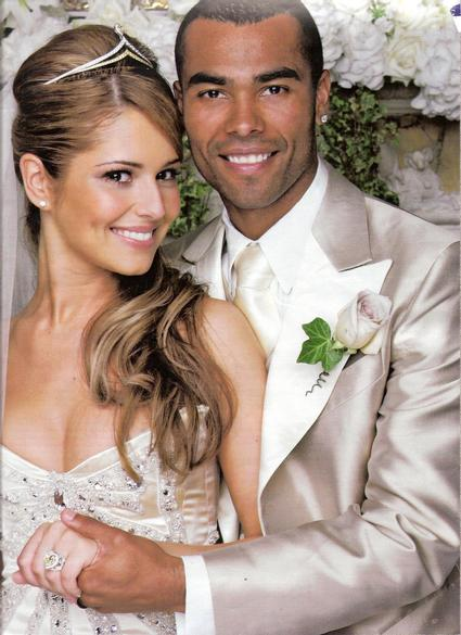 Ashley Cole wedding