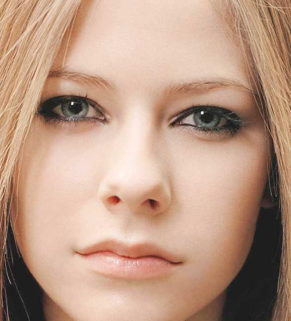 Avril Lavigne Sexy Face
