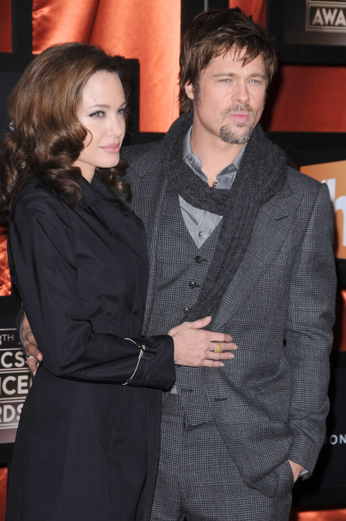 brad pitt and angelina jolie. Angelina Jolie and Brad Pitt