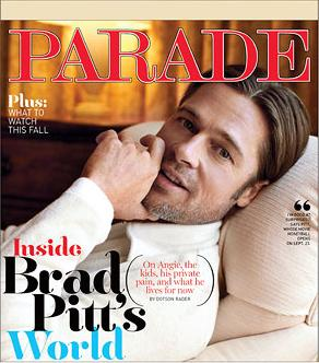 ... brad pitt s new attractive young assistant brad pitt seen with pretty