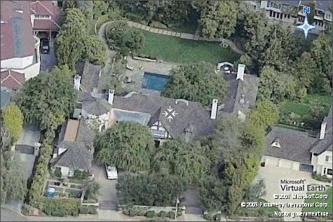 jennifer aniston brad pitt house beverly hills JPG a net worth of $100