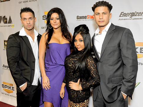 photos of jersey shore cast in italy. quot;Jersey Shorequot; Off To Italy