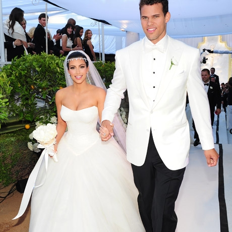 Kim Kardashian And Kris Humphries Wedding Day Was Filmed For A Television Special