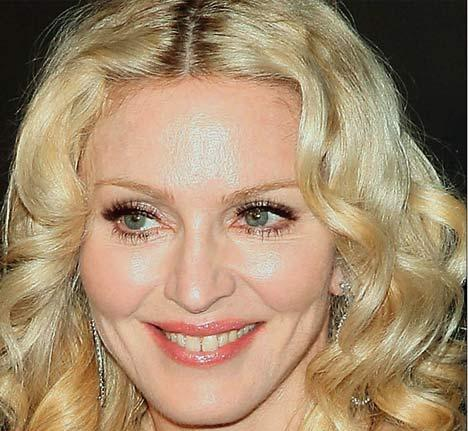The vile, vicious animal that is Madonna has cut off her adopted toddler she