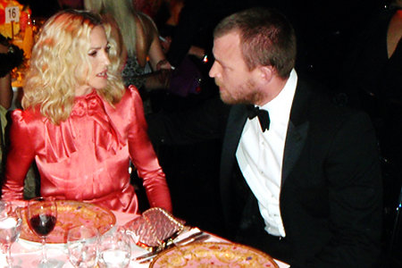 Madonna and Guy Ritchie fighting over dinner...at the Cannes Film ...