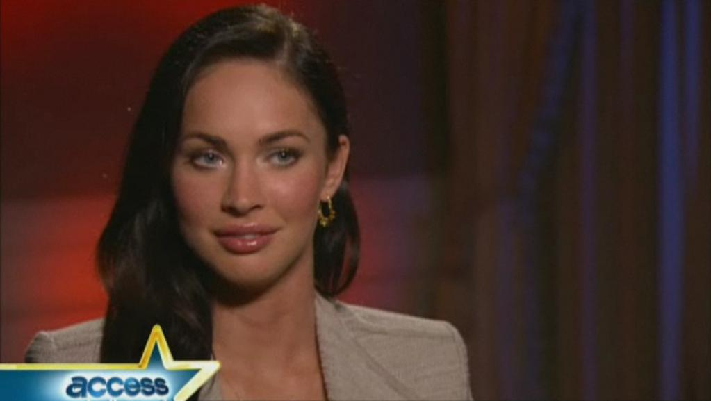 megan fox plastic surgery lips. Megan Fox this week,