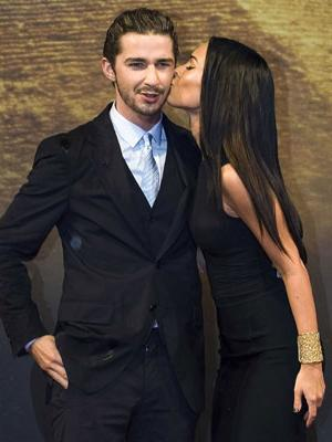 shia labeouf and megan fox. Shia LaBeouf and Megan Fox
