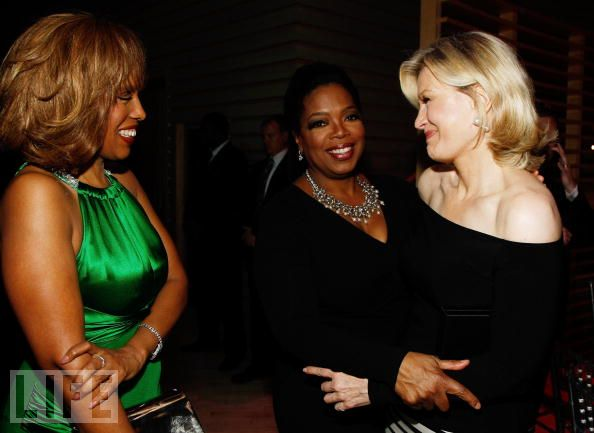 Gayle King, Oprah Winfrey and Diane Sawyer: www.judiciaryreport.com/book_oprah_winfrey_lesbian_affairs.htm
