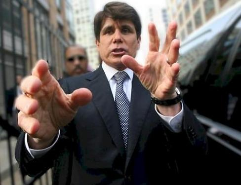 rod blagojevich umbrella. Rod Blagojevich Retrial To