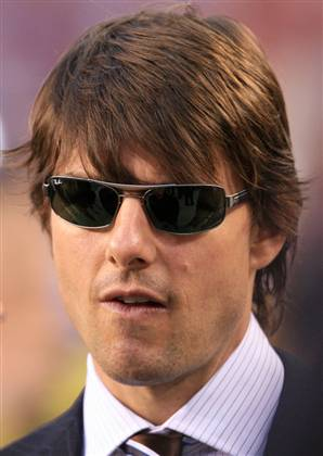 "tom cruise mission impossible hairstyle. Tom ""Placenta"" Cruise"