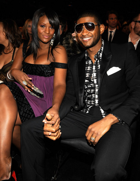 usher marriage