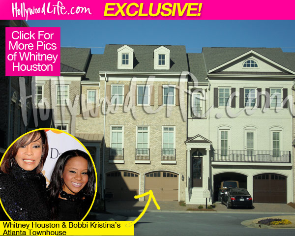 She has returned to the Atlanta townhouse she shared with her mom, ...