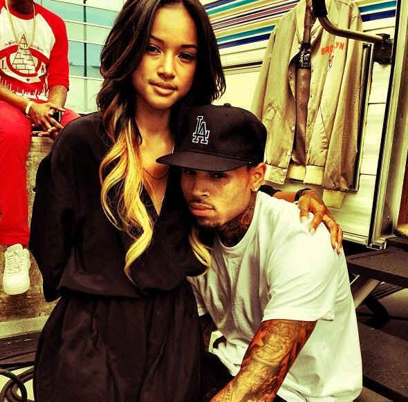karrueche and chris brown relationship with rihanna