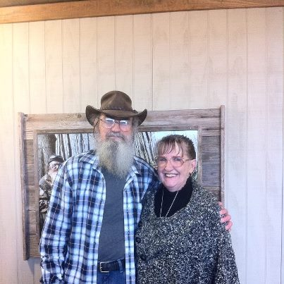 si robertson and wife christine robertson aww