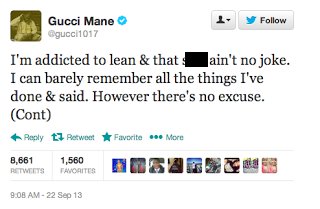 Gucci Mane Apologizes For His Drug Induced Tweets Stating ...