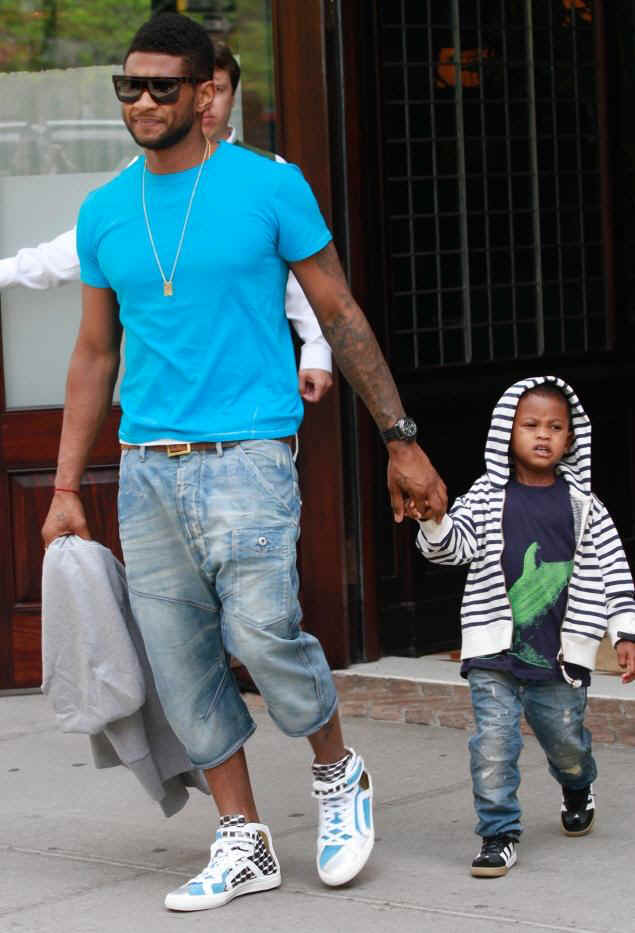 Aisha: Usher's Ex-Wife Demands Custody In Court After Son ...