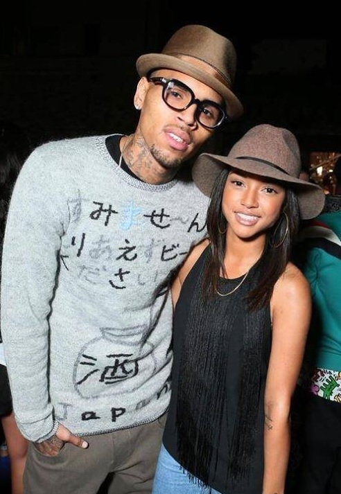 Rumors Swirl That Chris Brown s Girlfriend Karrueche Tran Is PregnantChris Browns Girlfriend Pregnant