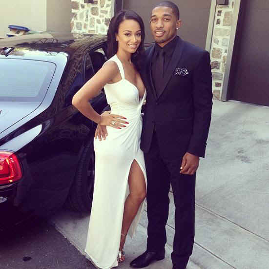 aisha draya from basketball wives la gets into fist