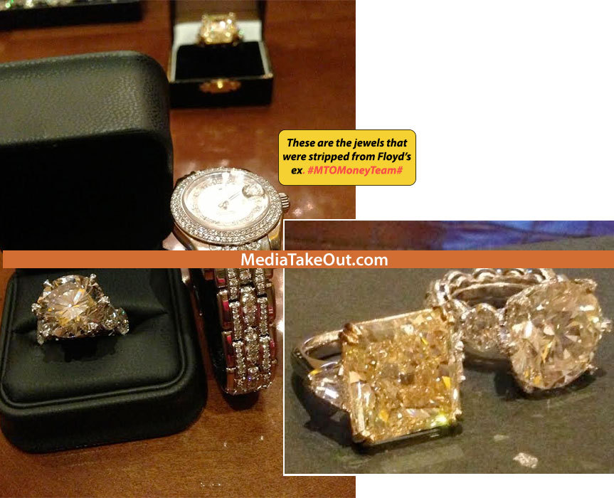 Report Floyd Mayweather Repossessed Millions In Jewels From Ex