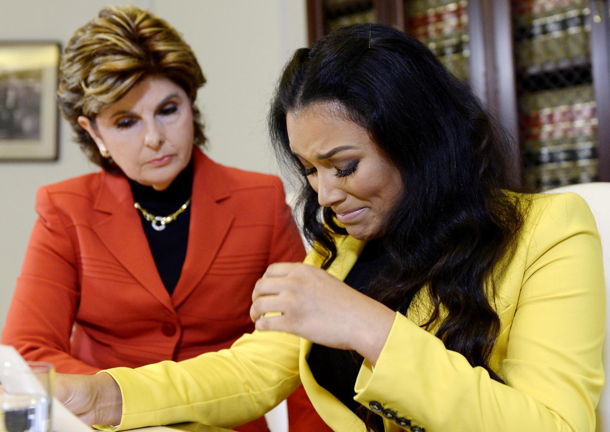 shantel jackson press conference has the public criticizing her gloria allred and shantel jackson