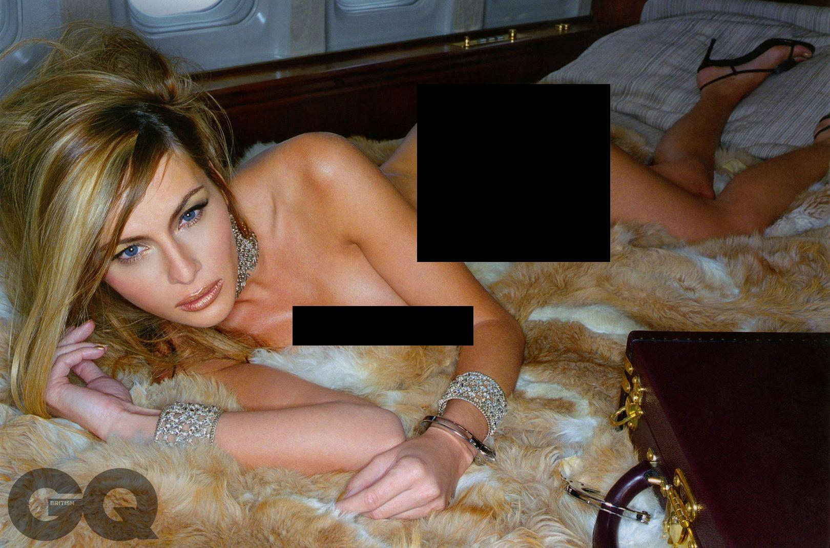 Aisha Donald Trump S Third Wife Melania Trump Posed Nude And Married Him For His Money