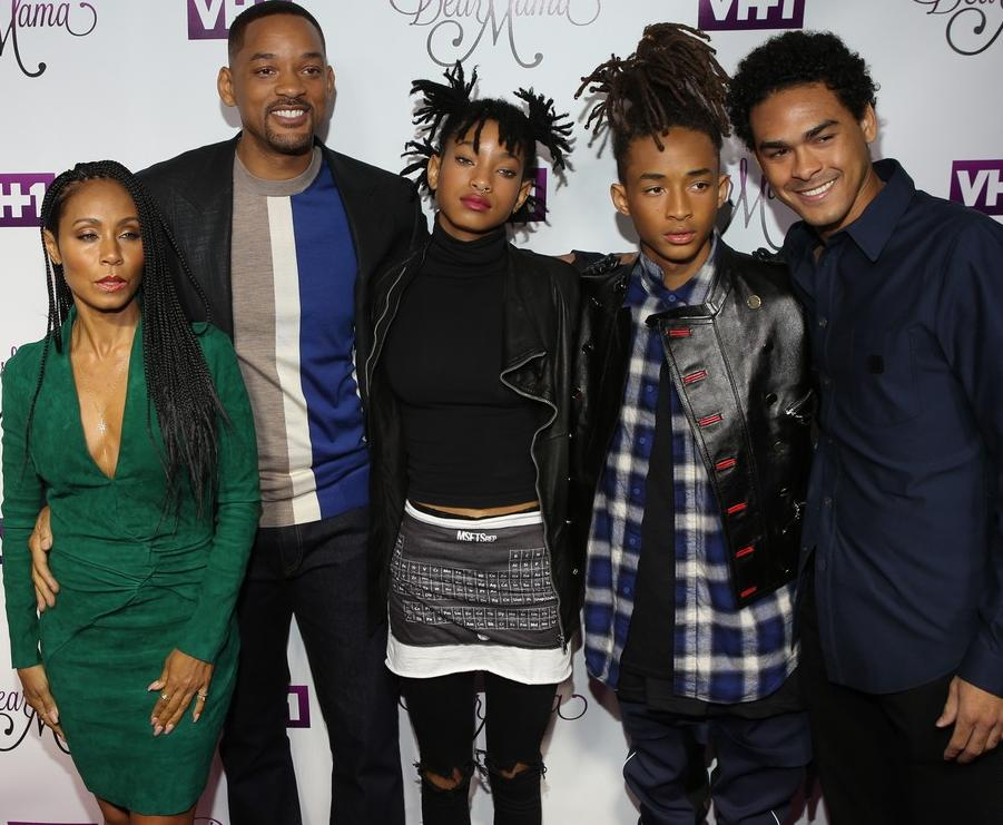 Jada And Will Smith's Kids Jaden Smith And Willow Smith ...
