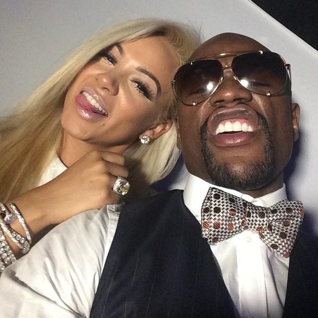 Shantel Jackson And Floyd Mayweather Break Up