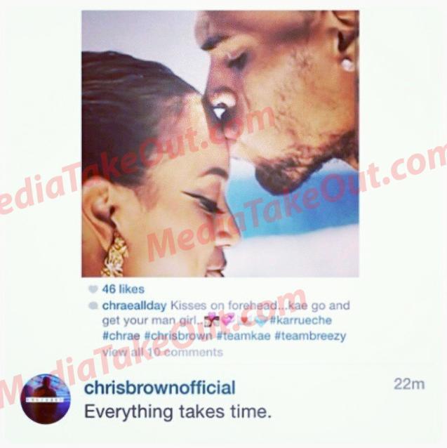Chris Brown Is Still Trying To Win Back Ex-Girlfriend Karrueche Tran