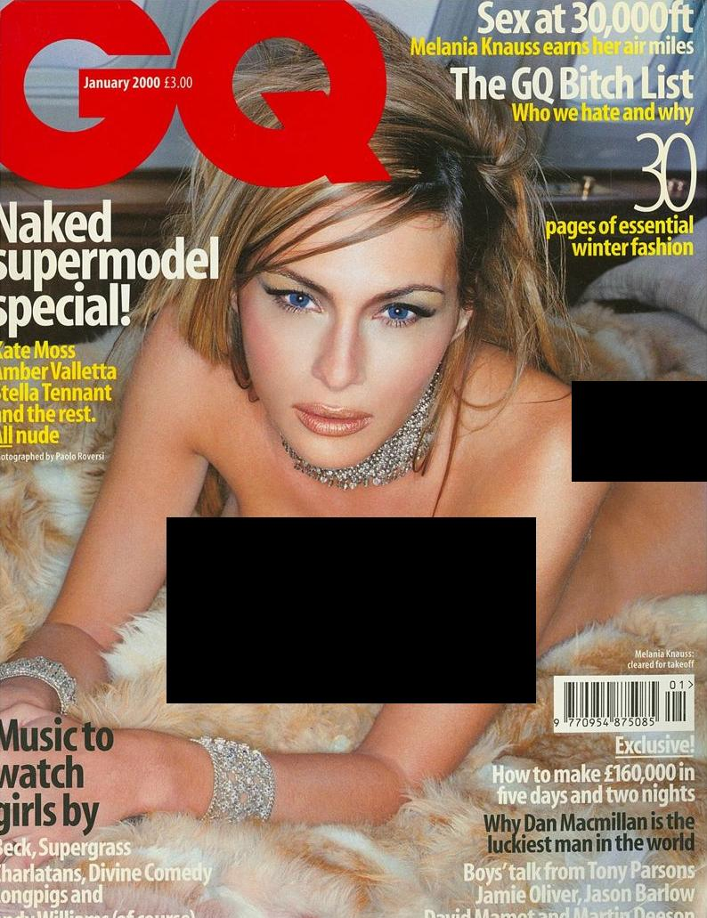 Is trumps wife still possing nude